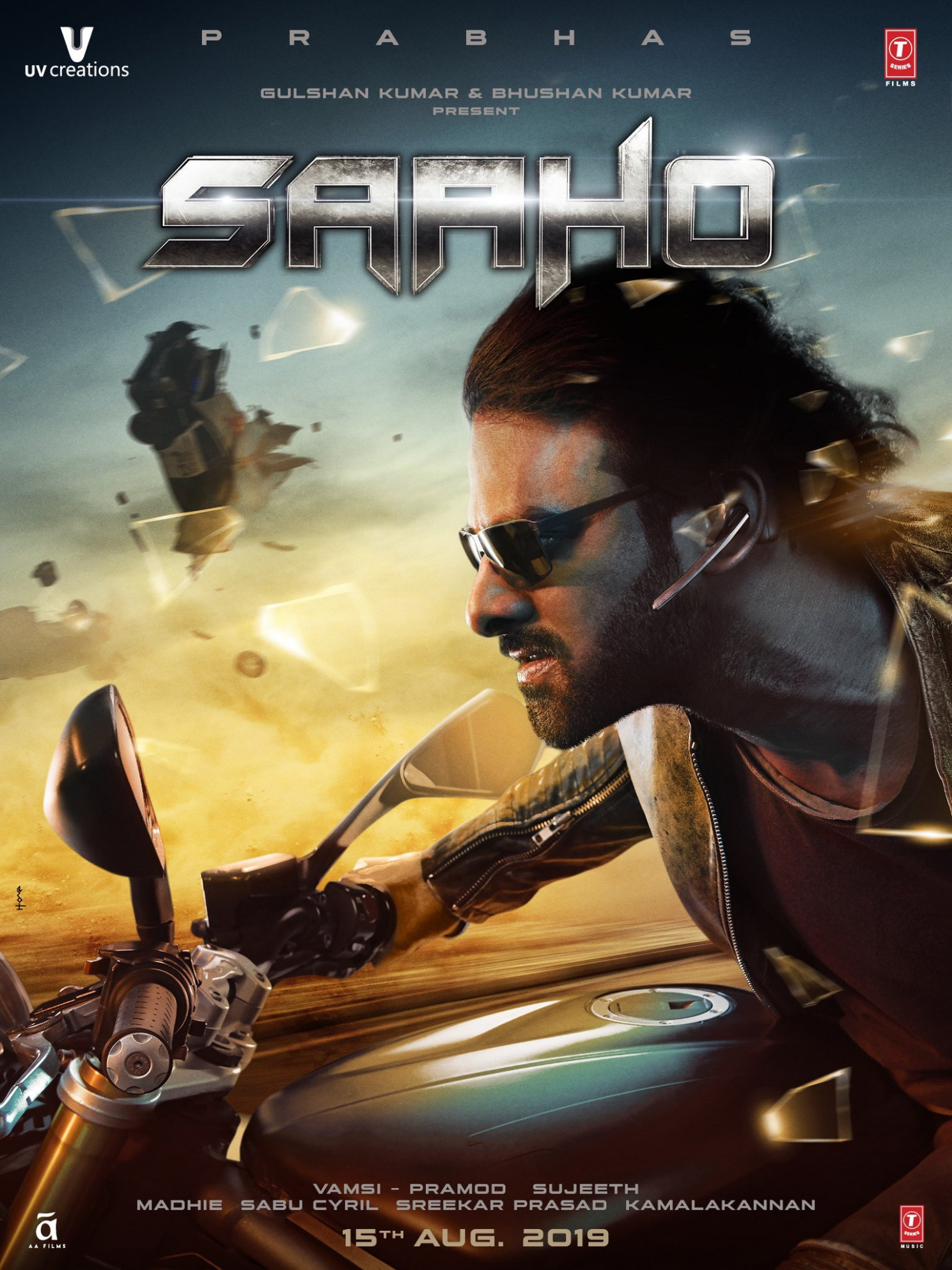 Download Saaho (2019) Movie HD Official Poster 25 ...