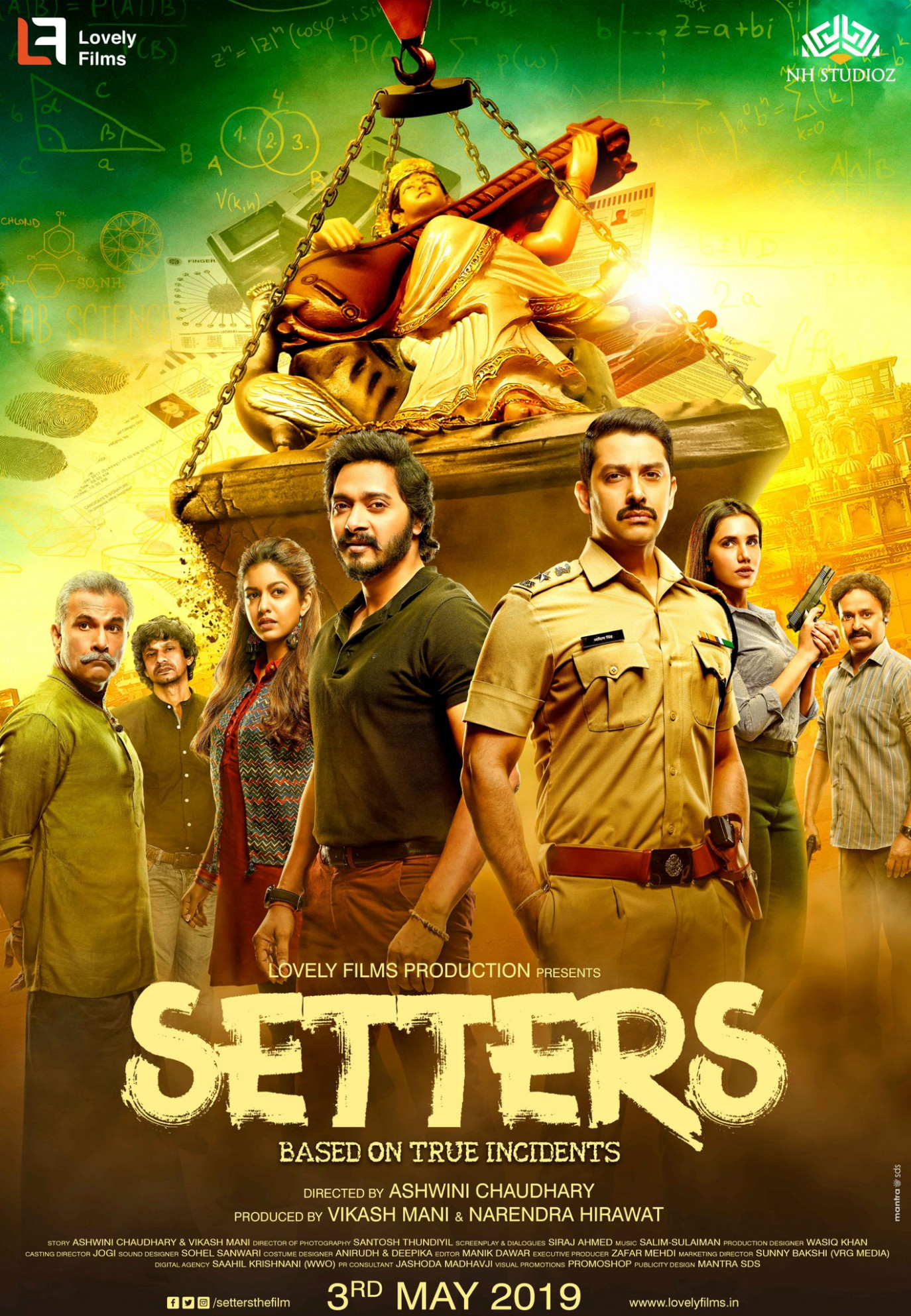 Download Setters (2019) Movie HD Official Poster 4 ...