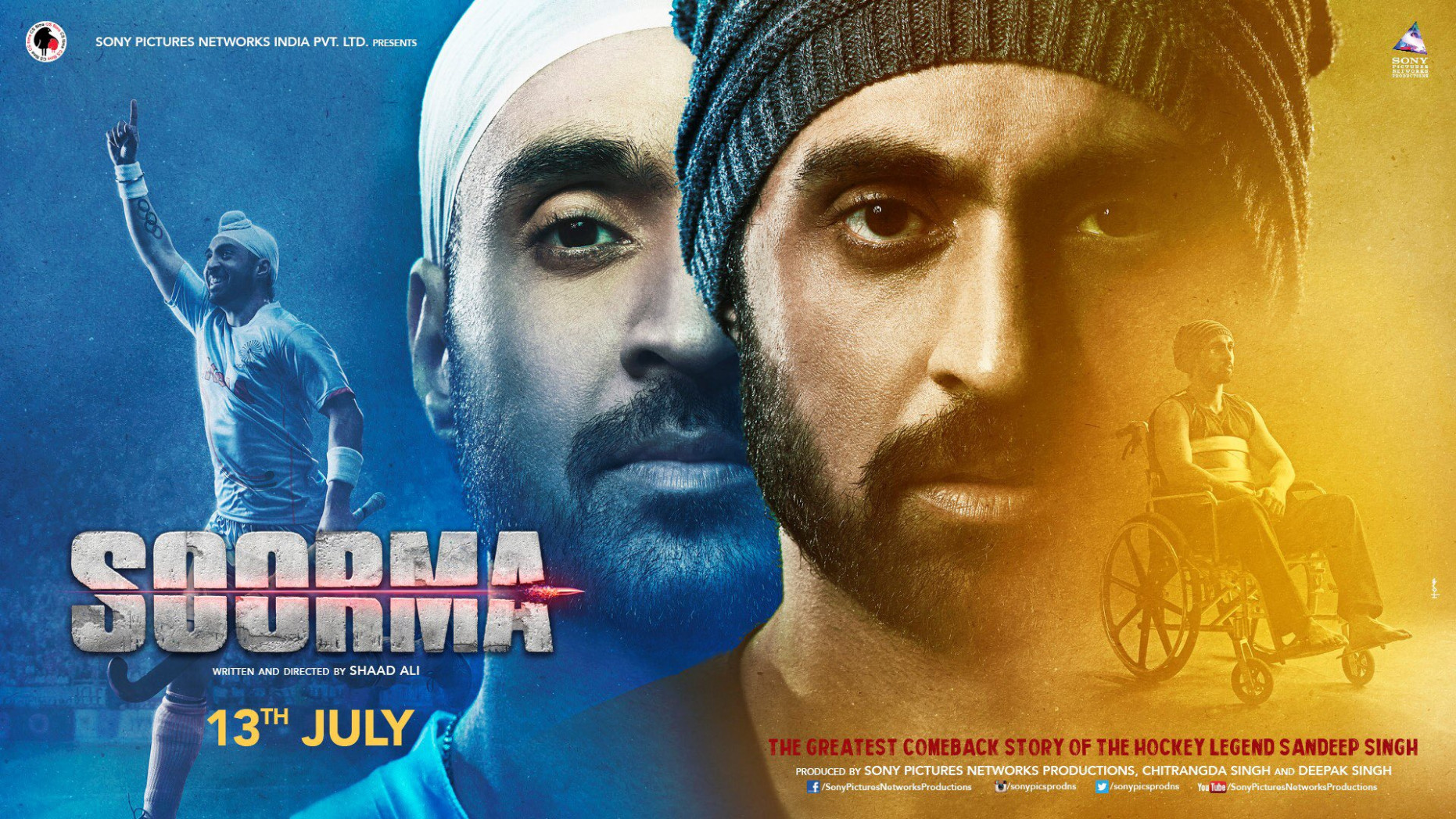 Download Soorma (2018) Movie HD Official Poster 7 ...