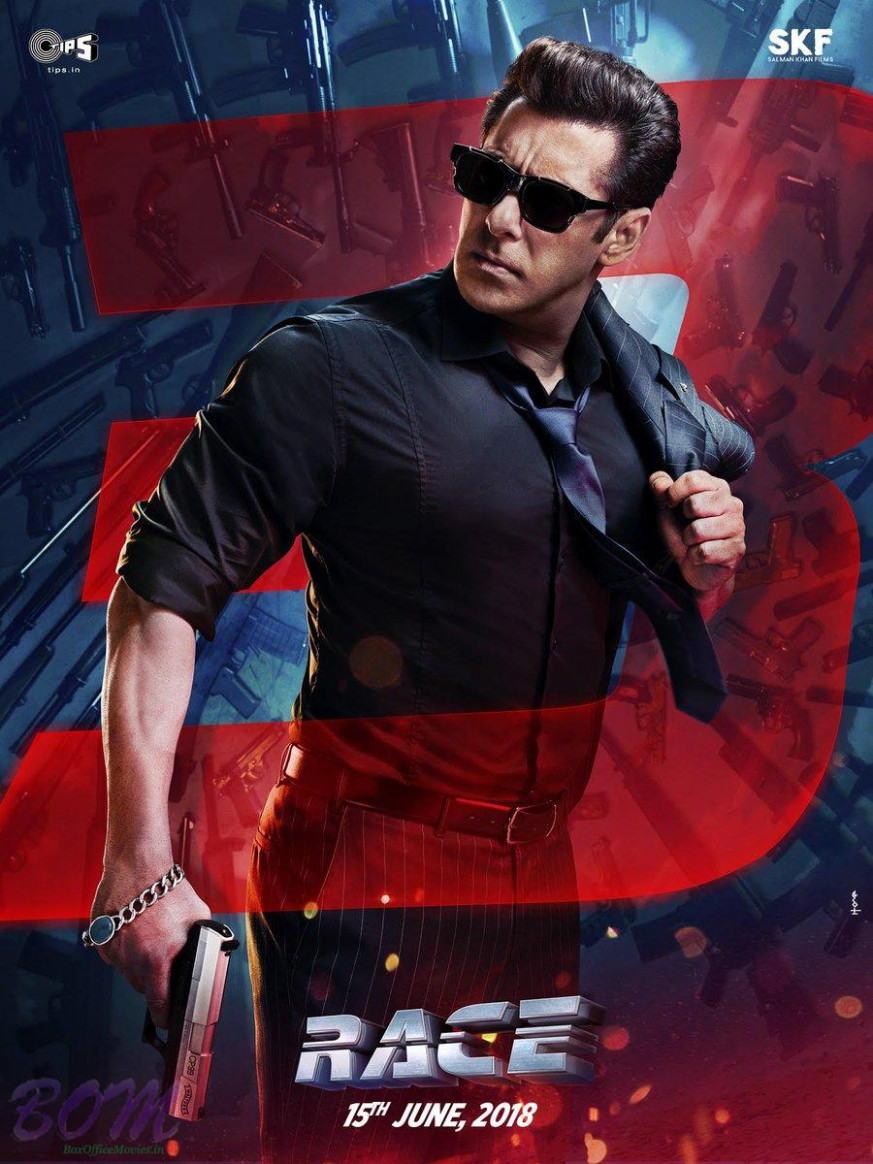 First poster of Salman Khan starrer Race 3 movie ...
