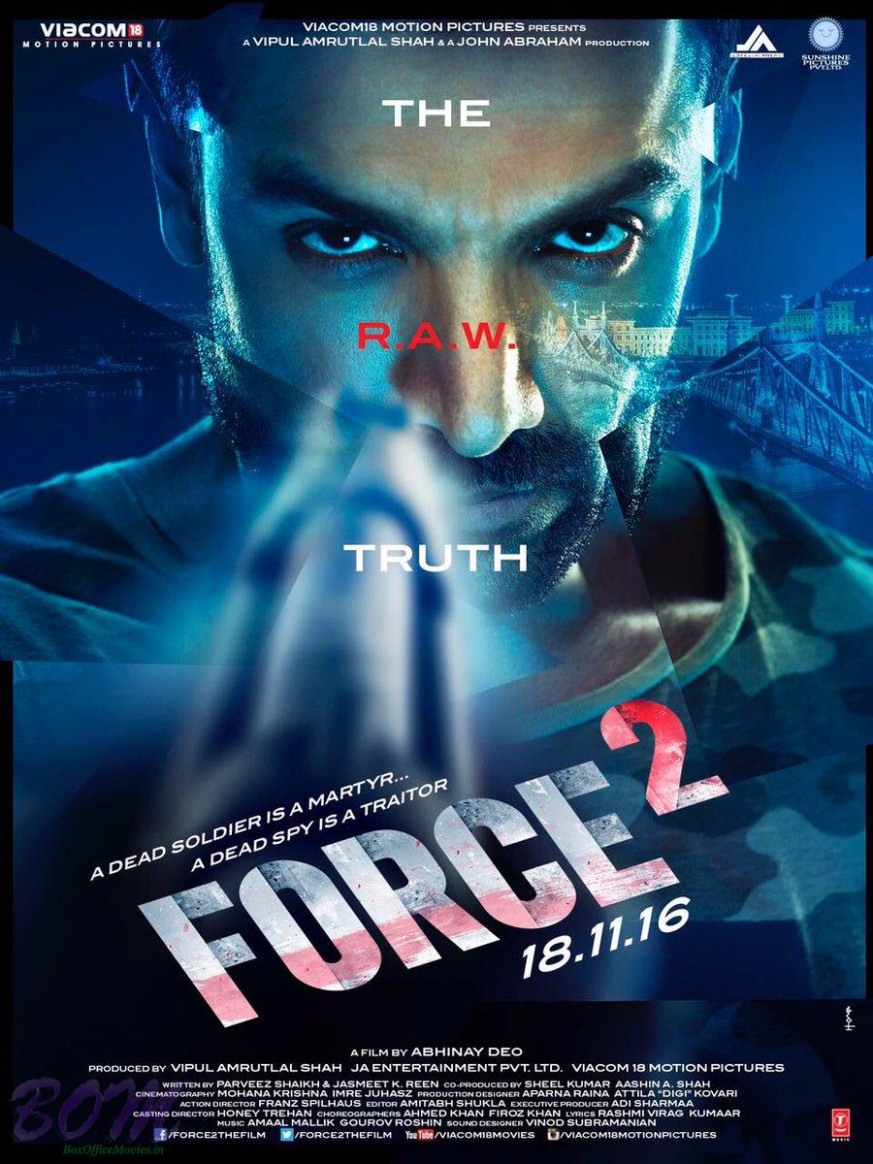 Force 2 Movie Poster on 27 Sep 2016 - Bollywood latest ...