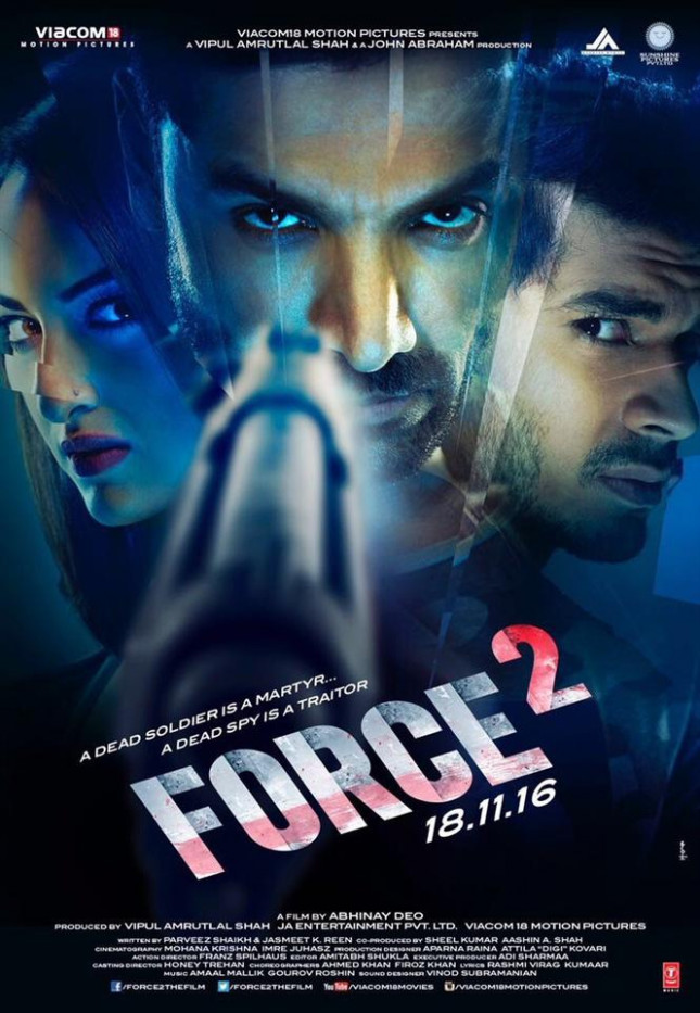 Force 2 New Poster Hindi Movie, Music Reviews and News