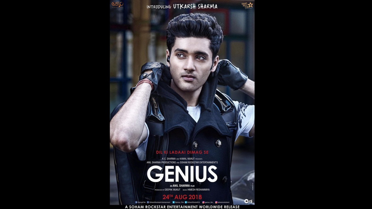 Genius first look: Gadar director Anil Sharma's son ...