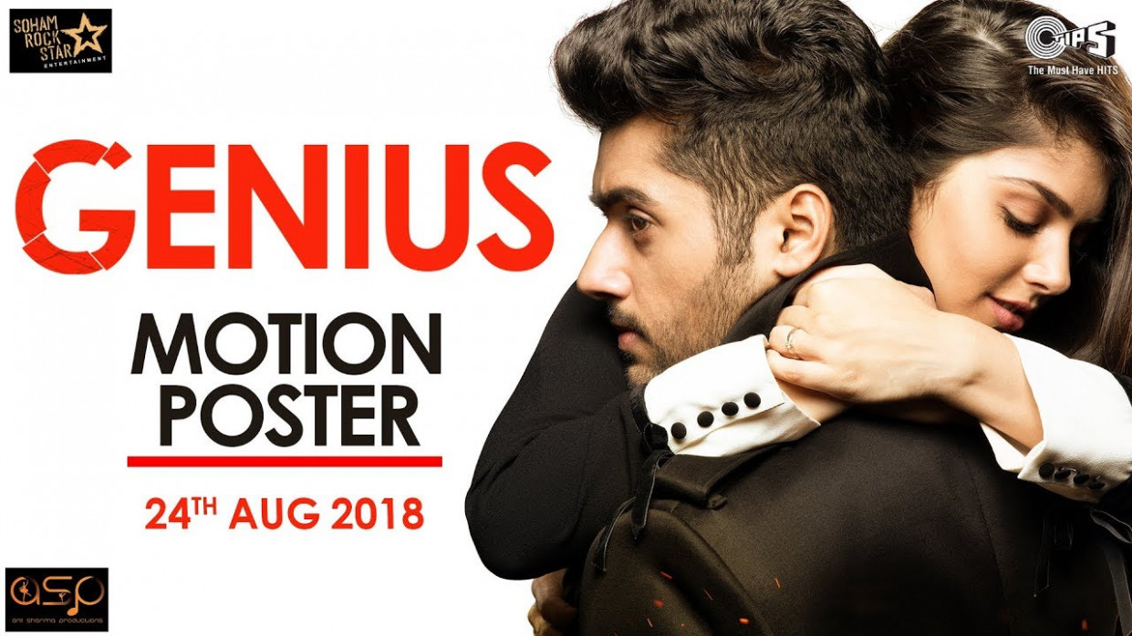 Genius Motion Poster | Utkarsh Sharma