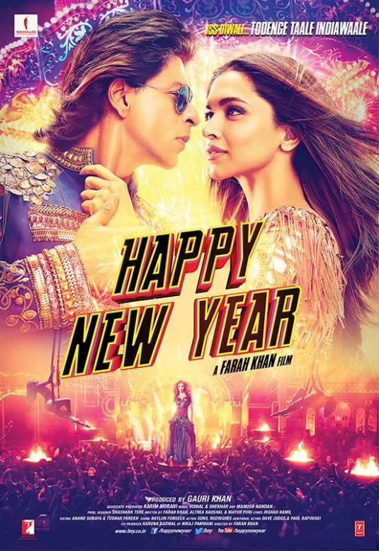 Happy New Year (2014). Gotta give it to this movie for ...
