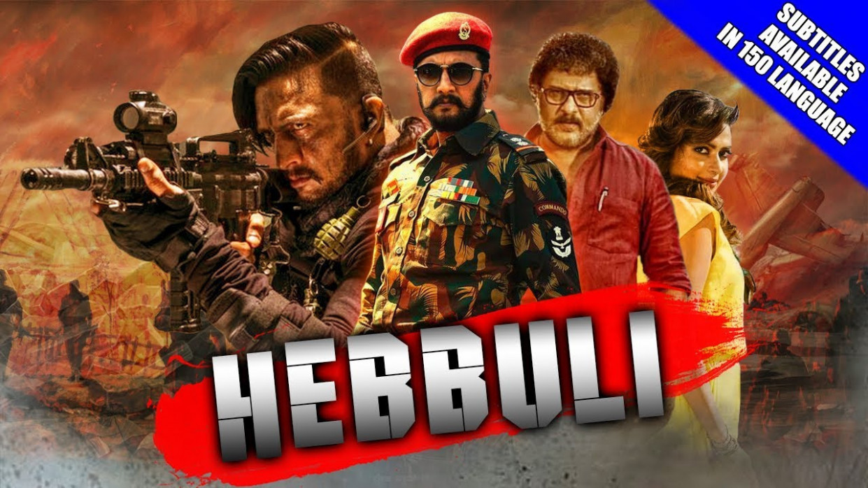 Hebbuli (2018) Full Hindi Dubbed 720p HDRip 1.2GB Download ..