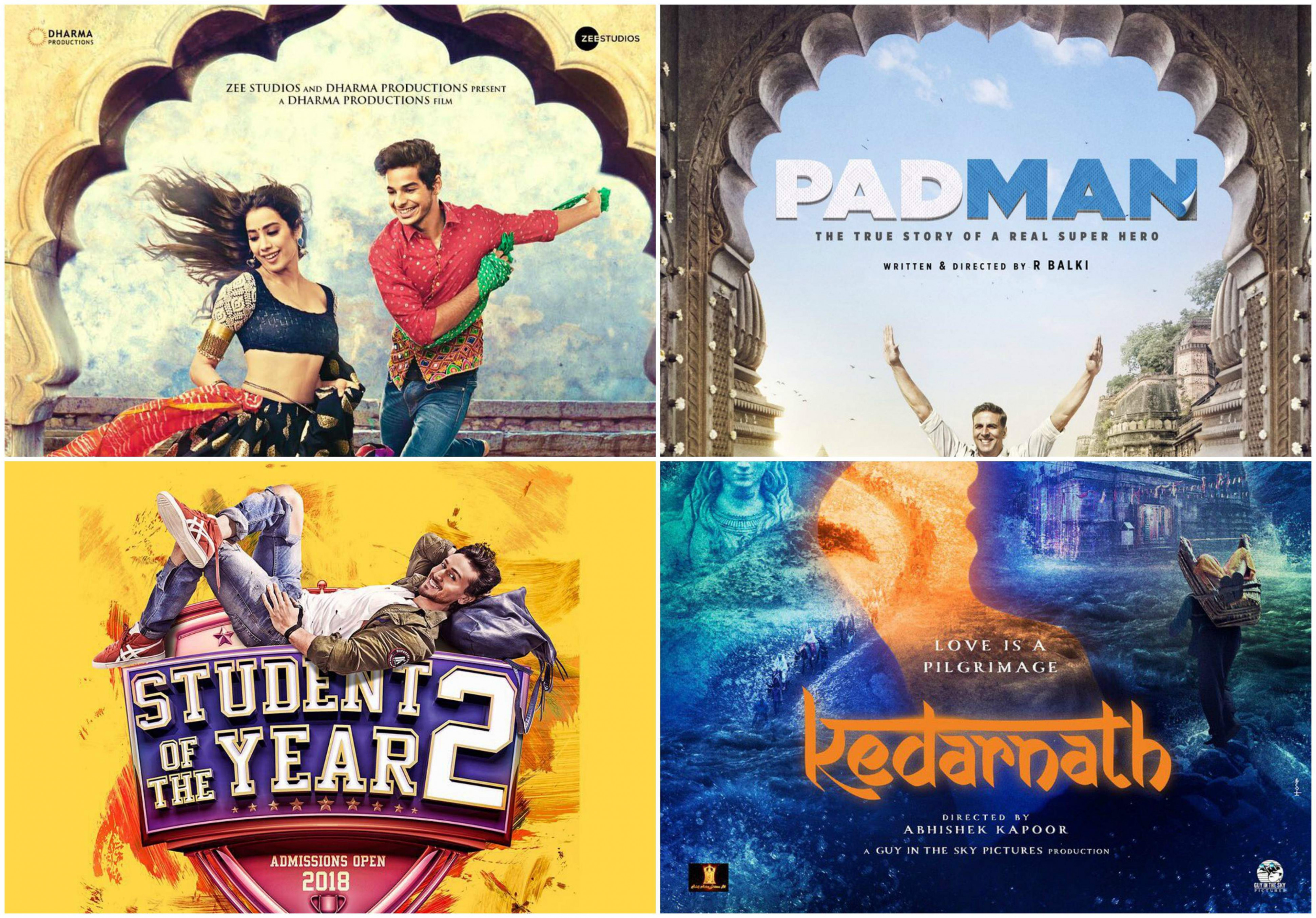Here's a list of Bollywood movies to look forward in 2018 ...