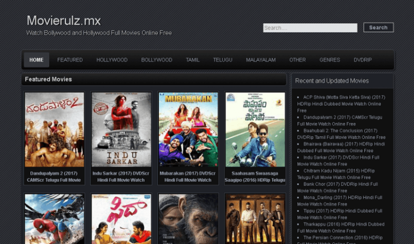 How To Watch Bollywood And Hollywood Movies On Movierulz ...