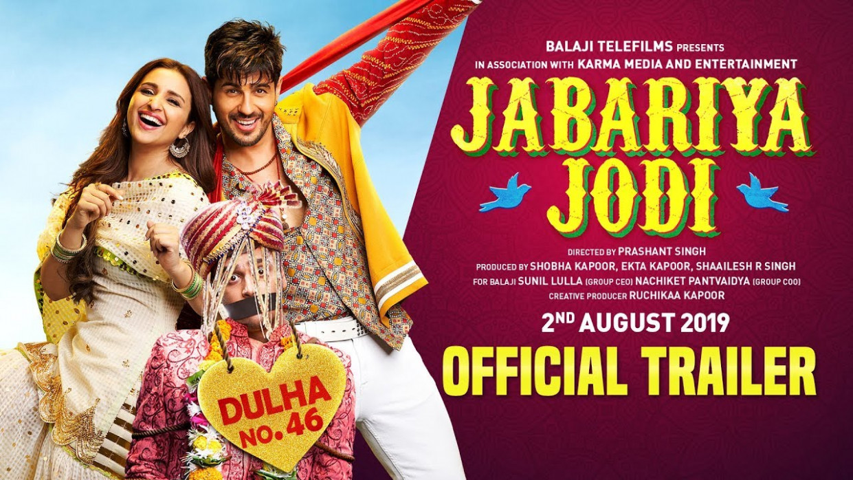 Jabariya Jodi 2019 Full Movie Download 300 MB 1080p Hindi ...