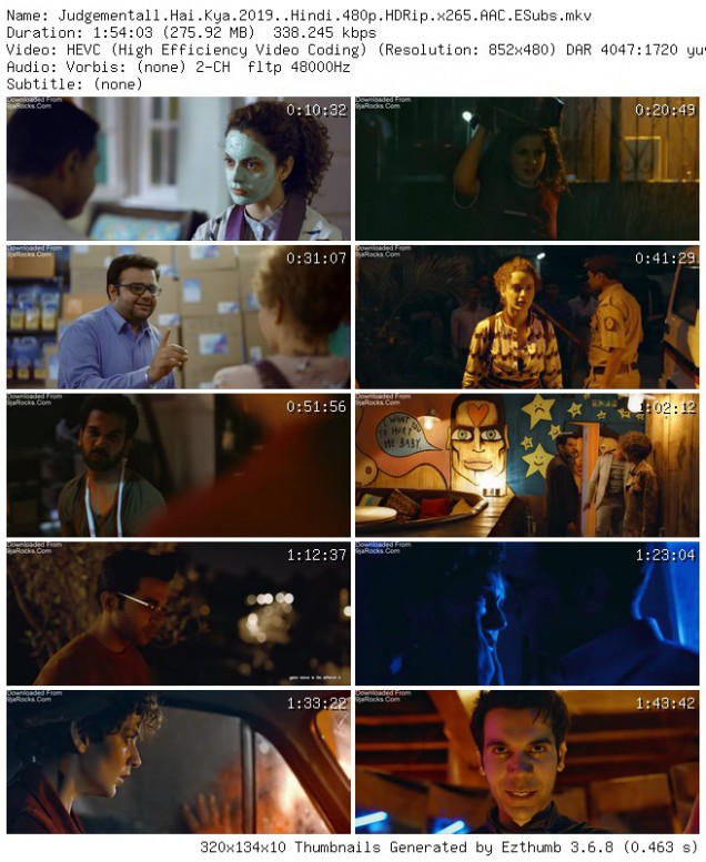 Judgementall Hai Kya (2019) - Bollywood Movie Mp4 3gp ...