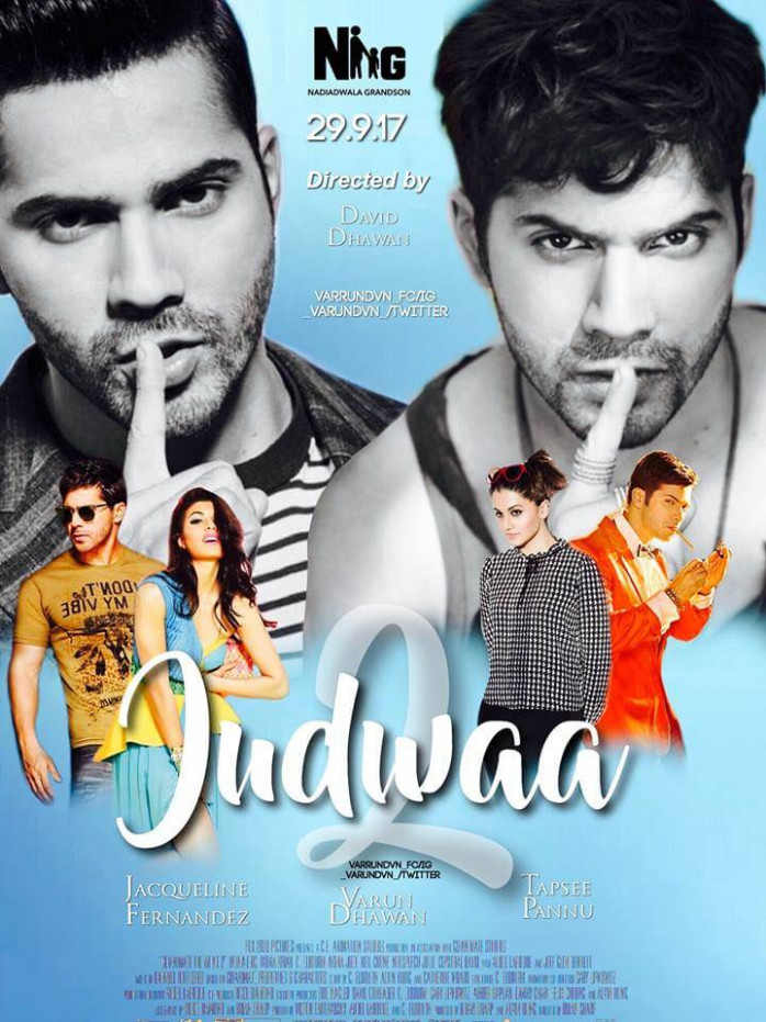 Judwaa 2 Movie Fan Made Poster 1 | Latest Bollywood News ...