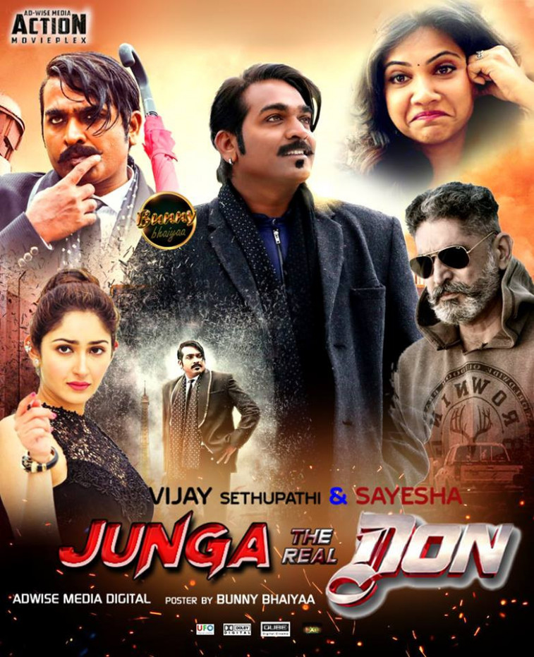 Junga The Real Don (2019) South Hindi Dubbed Full Movie ...