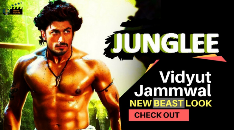 Junglee 2018 Watch out Vidyut Jammwal New Look With Bhola