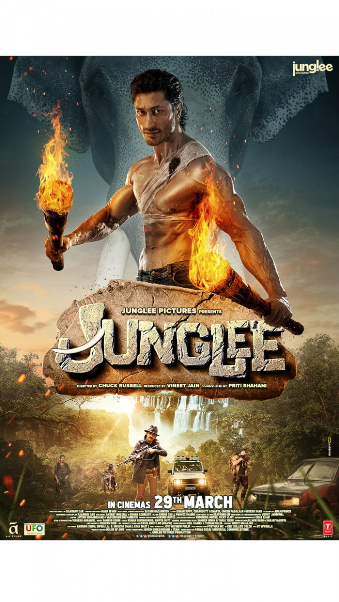 Junglee: Armed with fire torches, Vidyut Jammwal turns the ...