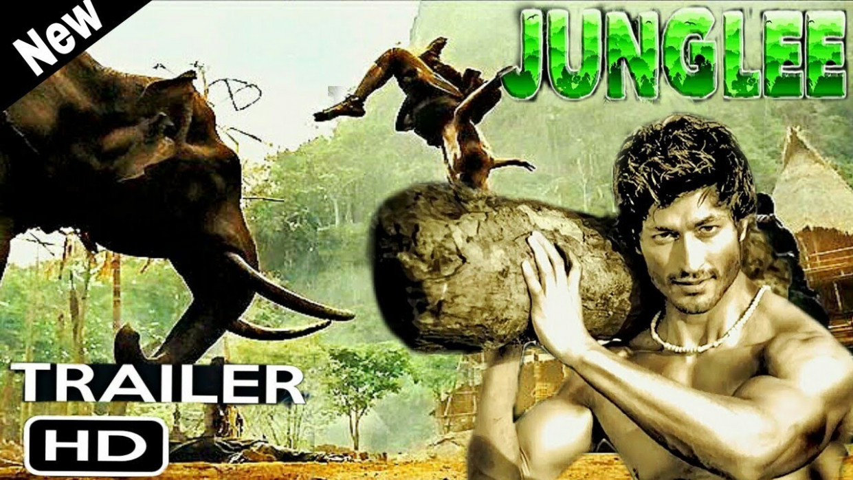 Junglee Movie Trailer - Vidyut Jamwal - YouTube
