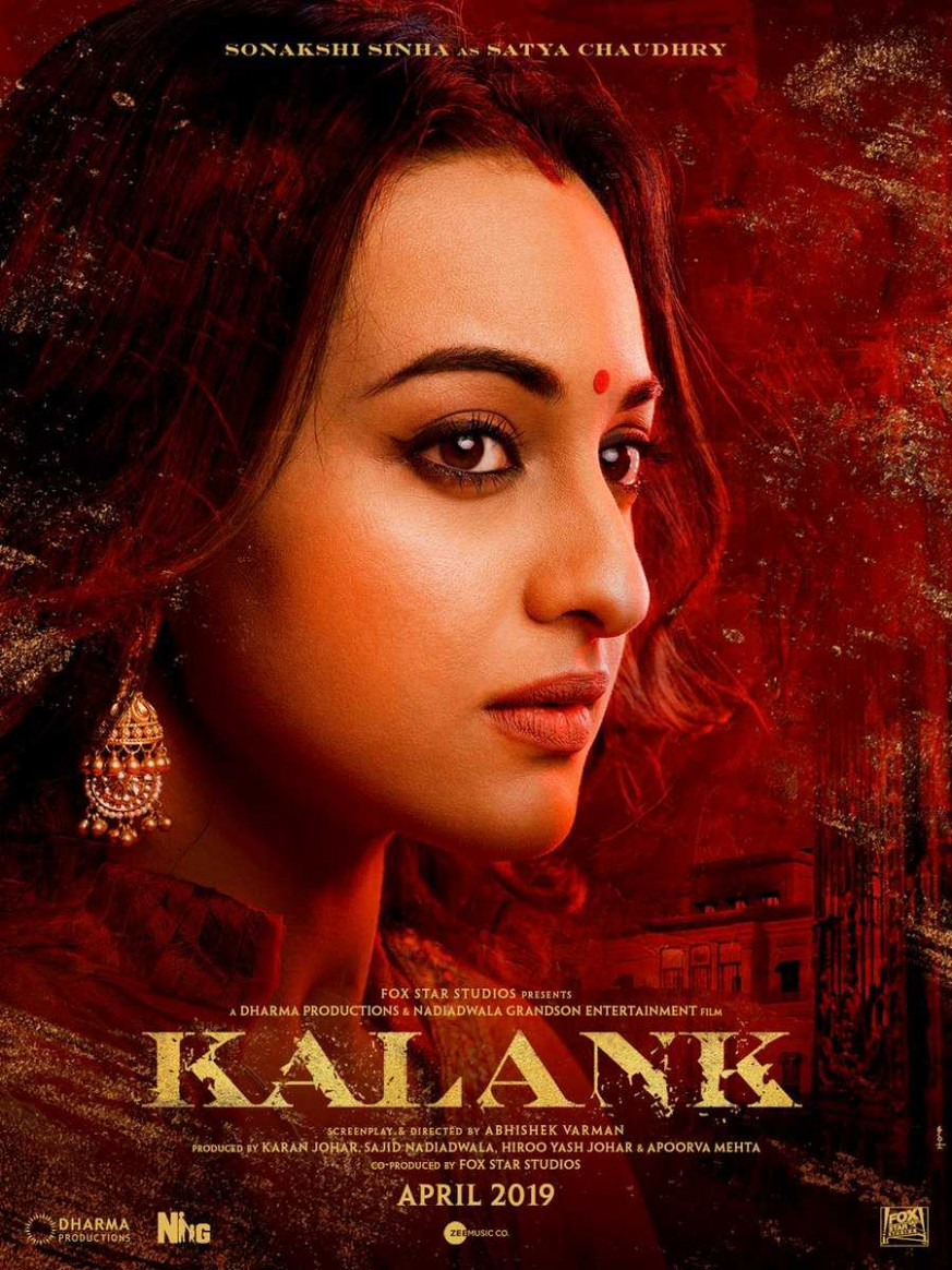 Kalank Movie First Look Poster HD | Bollywood Breaking ...