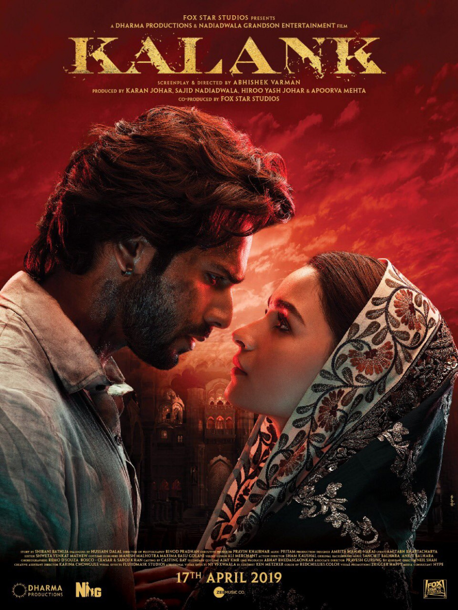 Kalank Movie HD Poster Wallpaper