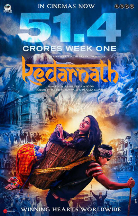 Kedarnath (2018) Hindi Movie 720p HDRip 900MB Download ...