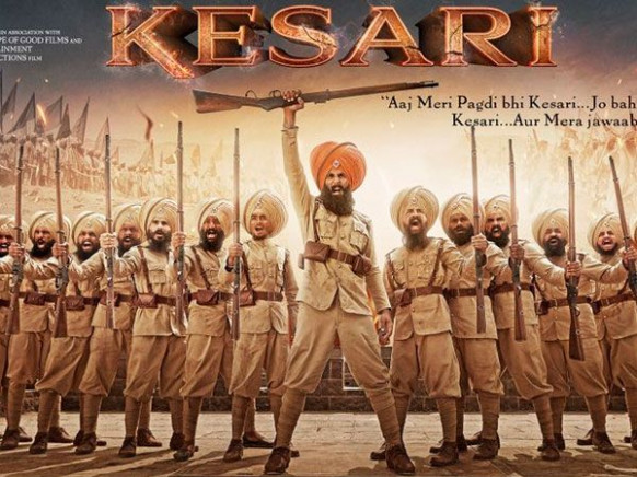 Kesari new poster out: Akshay Kumar unravels the pages of ...