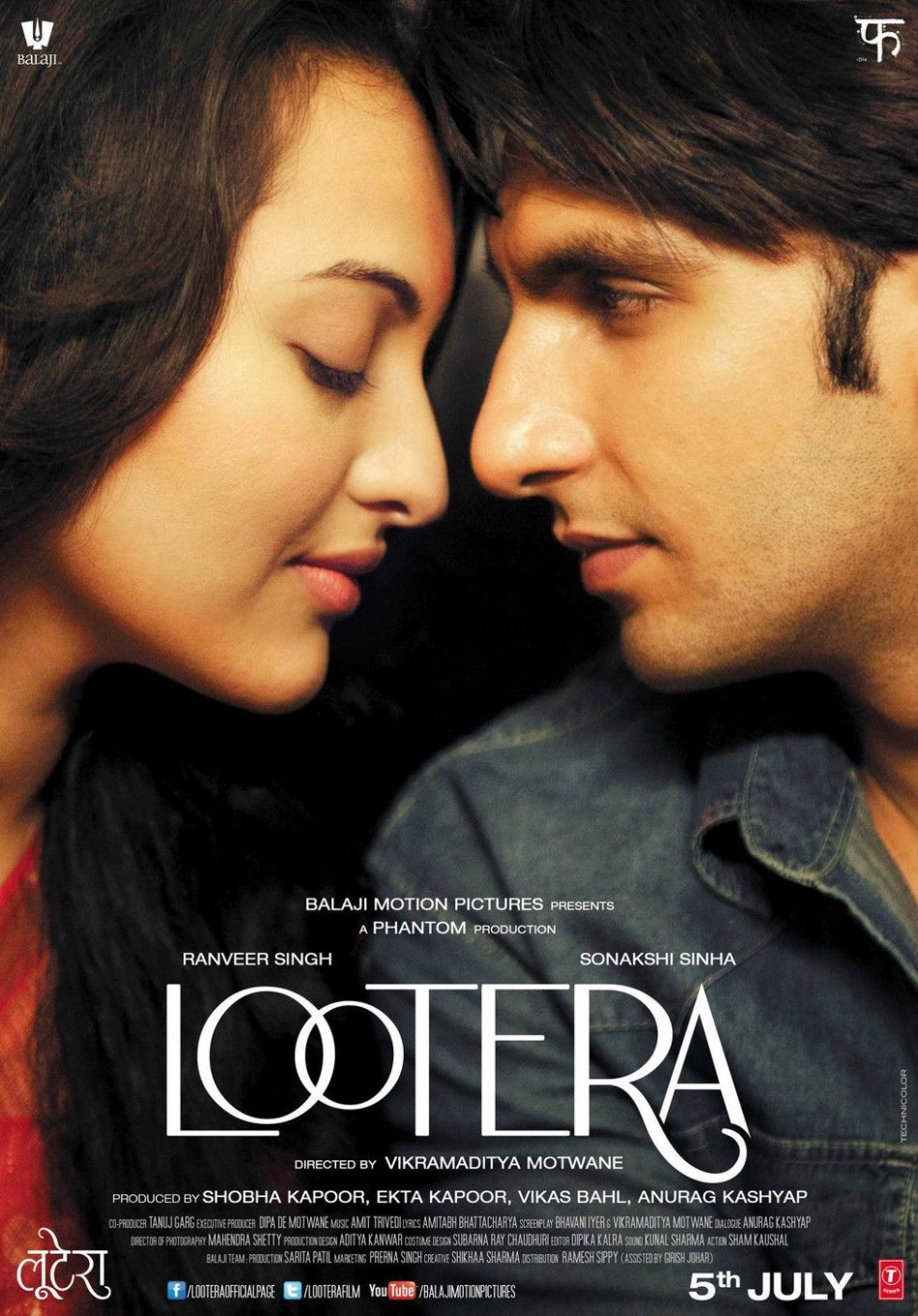 Lootera - Movie Poster #3 | Bollywood Movie Posters in ...