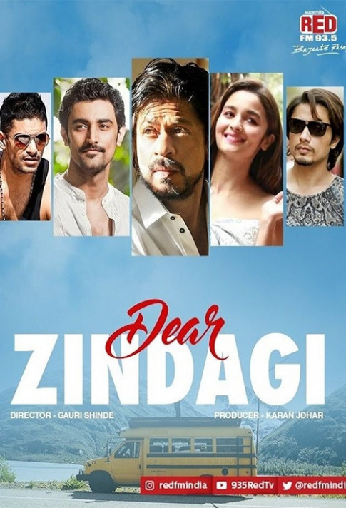 Movie poster for Dear Zindagi - Flicks.co.nz