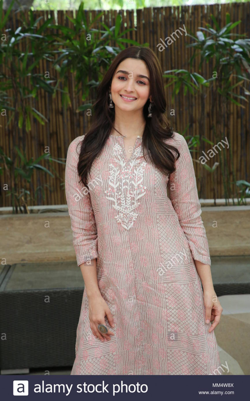 New Delhi, India. 08th June, 2018. Bollywood Actress Alia ...