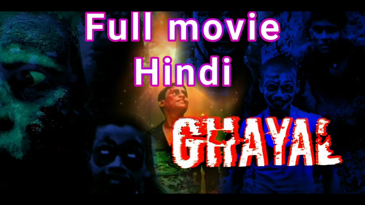 New|Hindi horror full movie|Ghayal|Bollywood horror movie ...