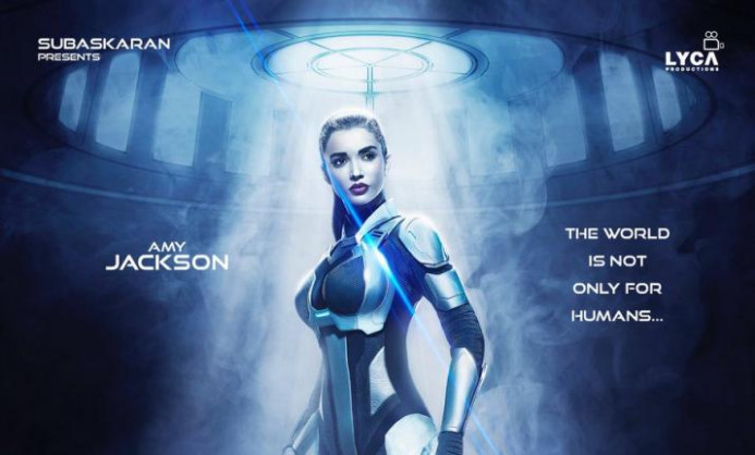 New poster of Rajinikanth's 2.0 is out, Amy Jackson's look ...