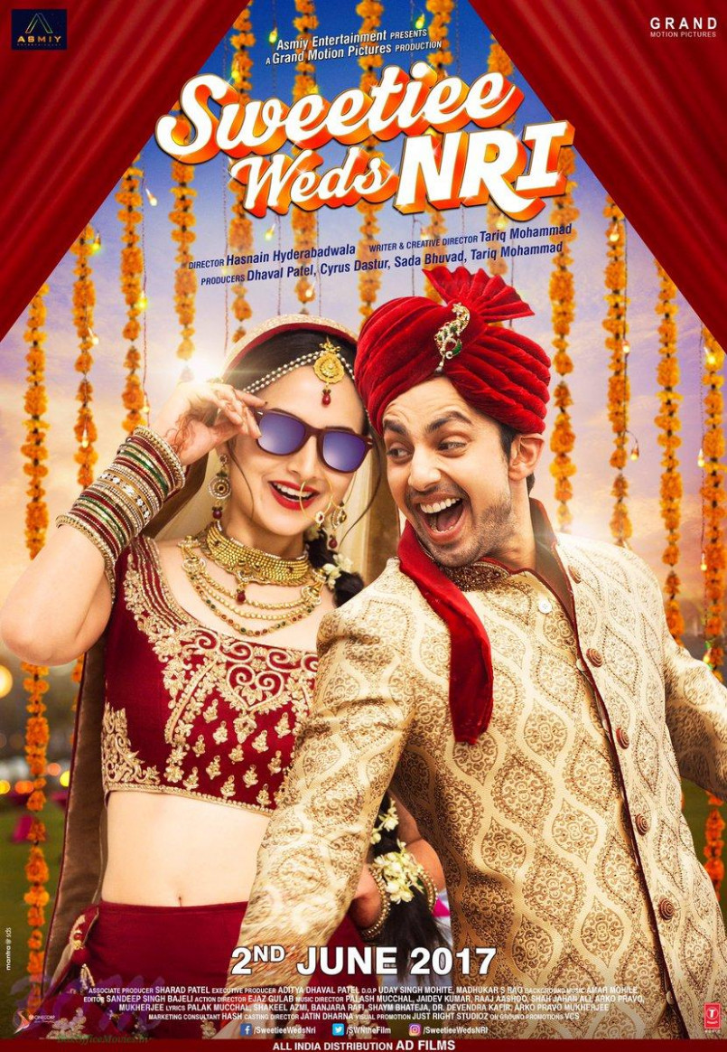 New poster of Sweetiee Weds NRI movie - Bollywood latest ...