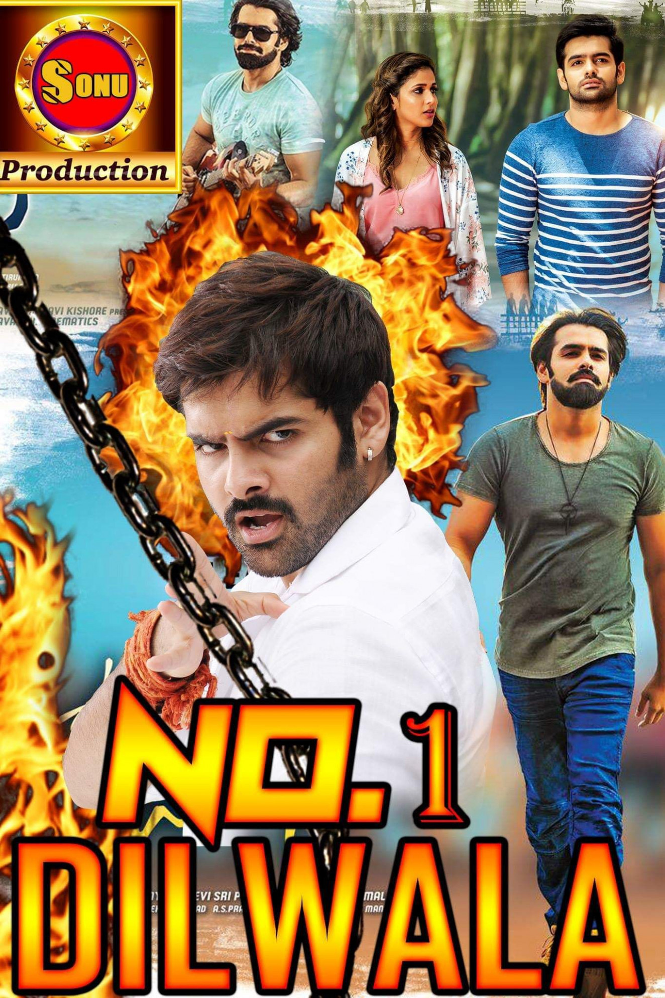 No.1 Dilwala (Vunadhi Okate Zindagi) Hindi Dubbed 720p ...
