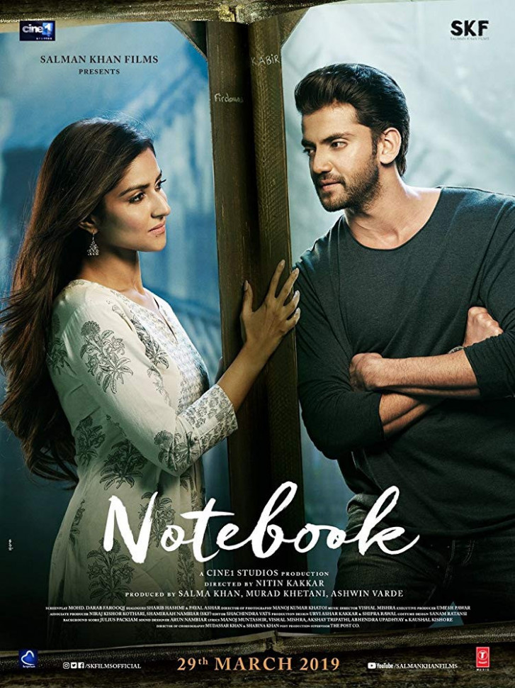 Notebook 2019 Hindi Movie Official Trailer 720p HDRip ...