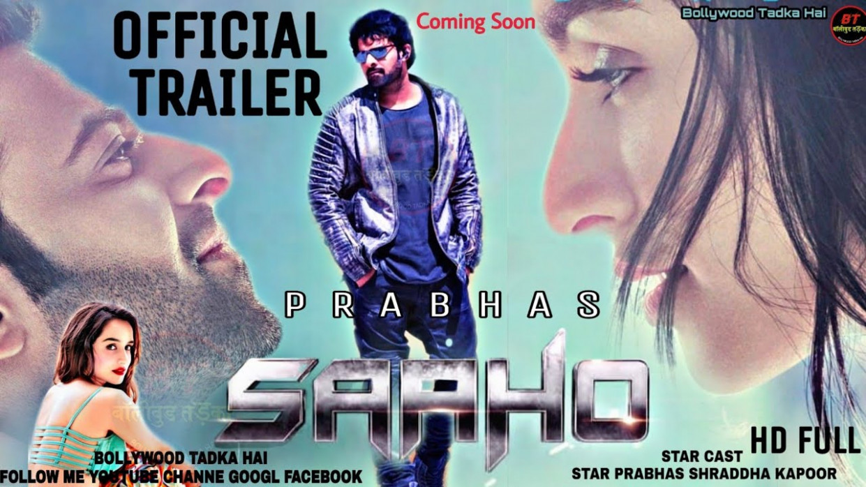 Official Trailer | Saaho | Coming Soon Prabhas