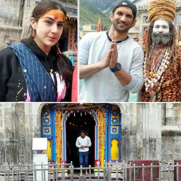 OMG! Sushant Singh Rajput and Sara Ali Khan seek blessings ...