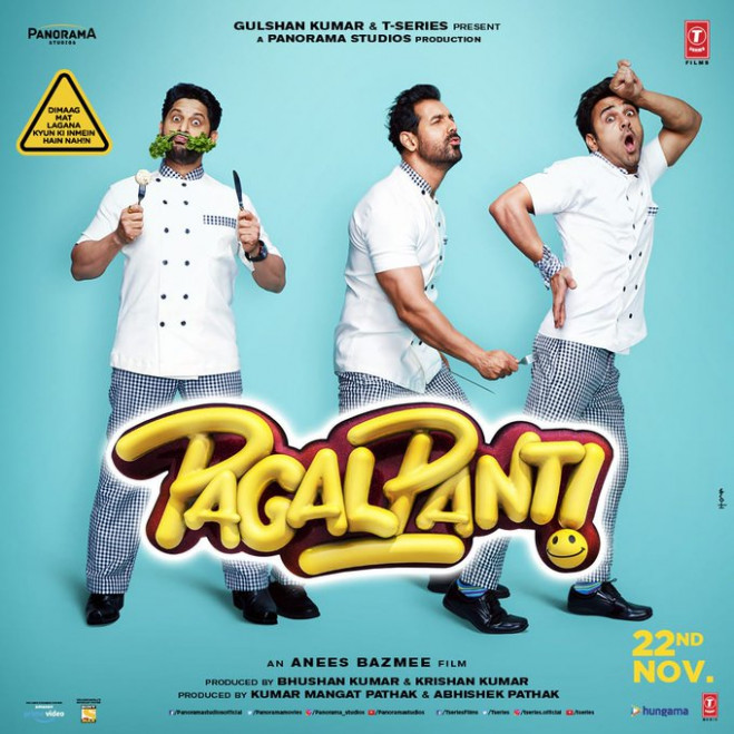 Pagalpanti New Movie Posters, Trailer Out on 22 October 2019