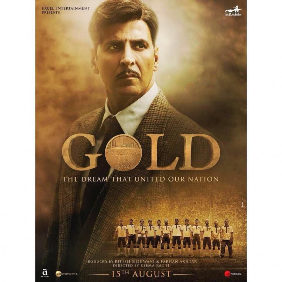 Poster shot for the movie Gold 2018 | Film Posters ...