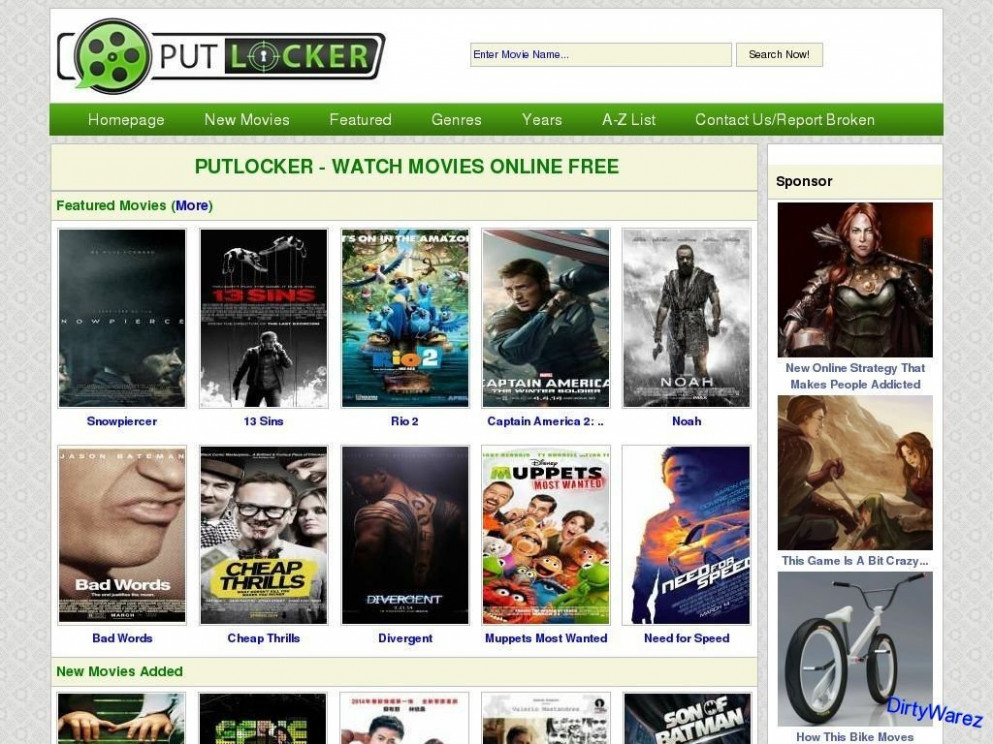 Putlocker.is Is Dead | Top 5 Alternative | Watch Free ...