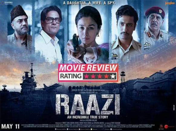 Raazi movie rating | Bollywood movies | New indian movies ...