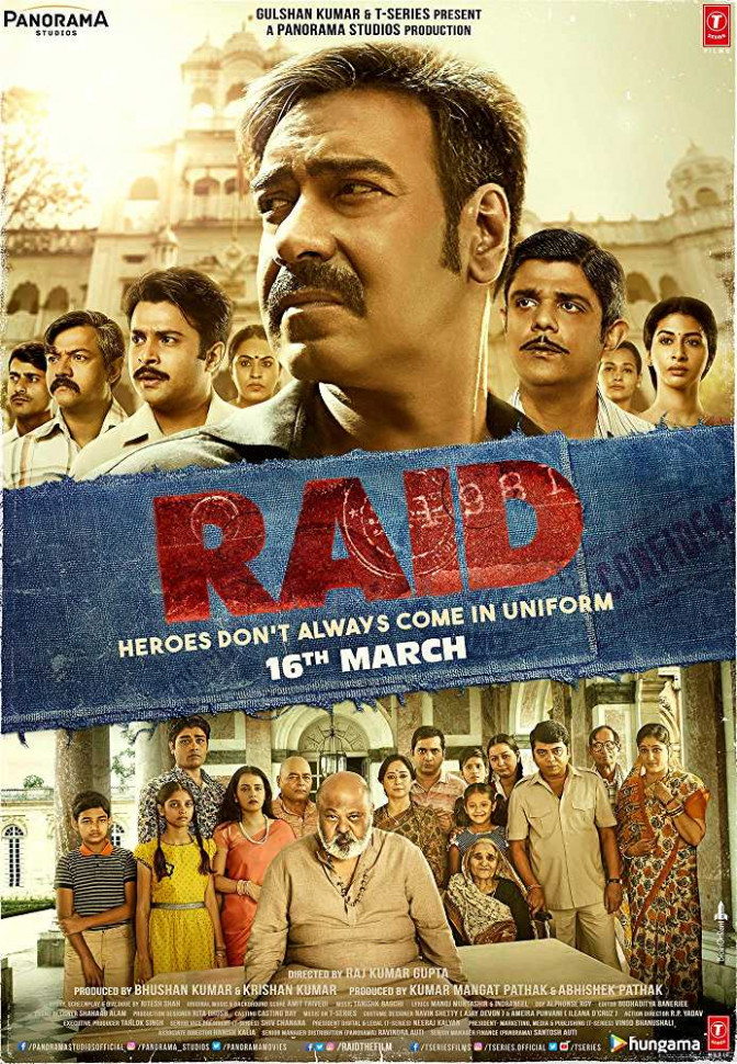 Raid Hindi Movie Wiki Story Review Release Date Trailers ...