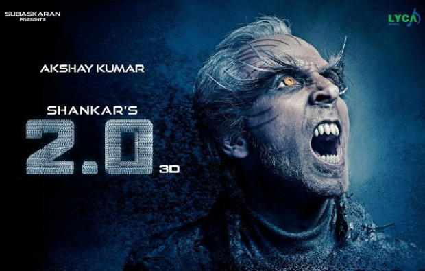 Rajinikanth-Akshay Kumar Starrer Sci-Fi Film 2.0 (2 Point ...
