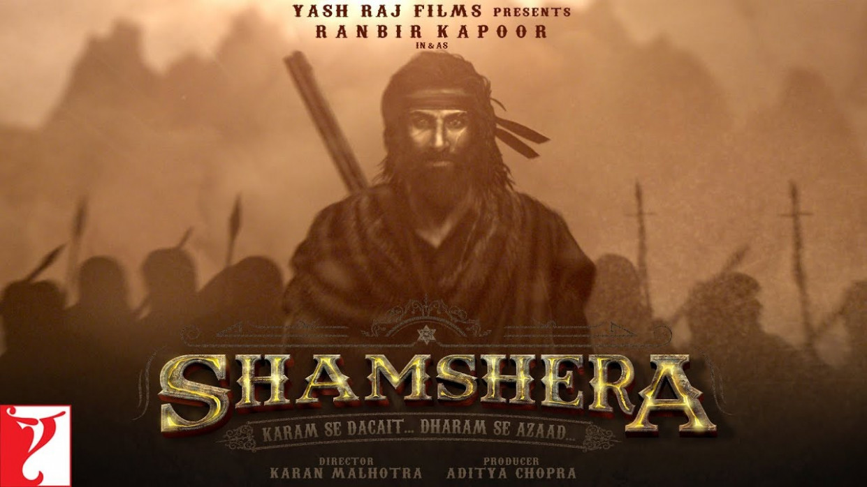 Ranbir Kapoor in and as Shamshera | Watch Teaser ...