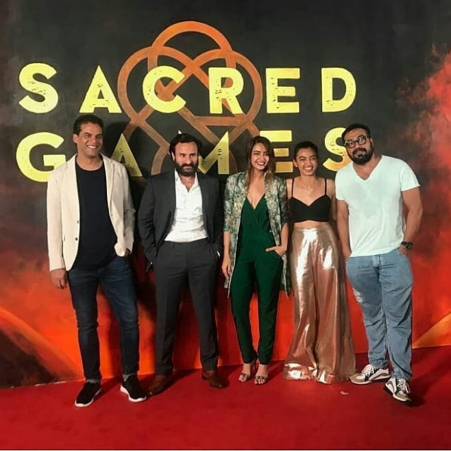 Sacred Games: Netflix unveils release date for new show ...