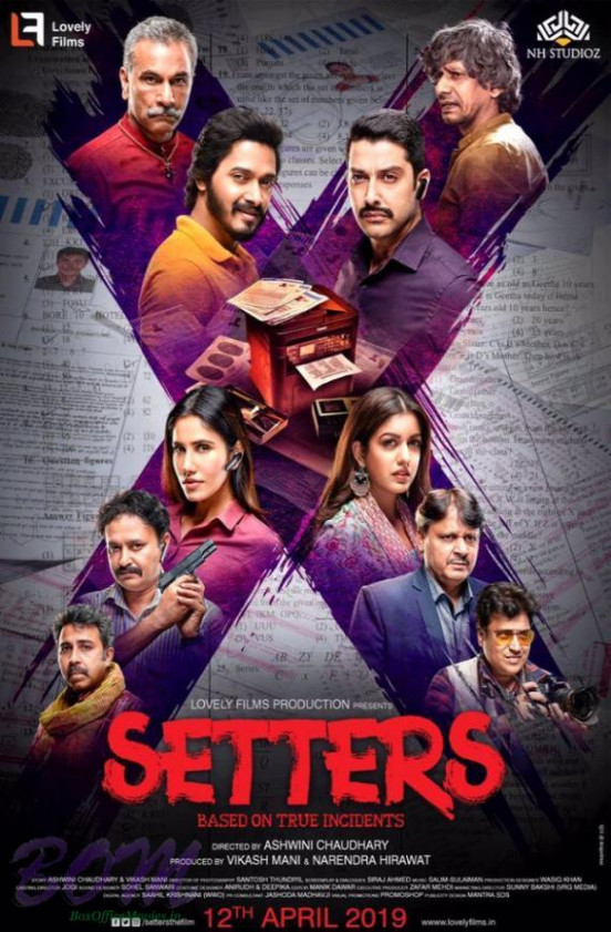 Setters movie poster with release date 12 Apr 2019 ...