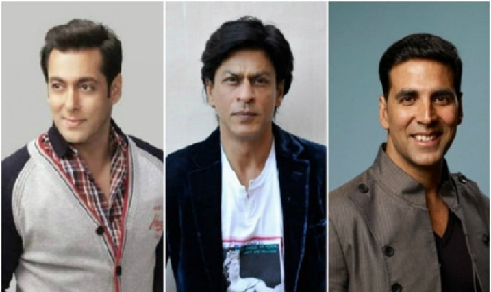 Shah Rukh Khan, Salman Khan And Akshay Kumar Finds Place ...