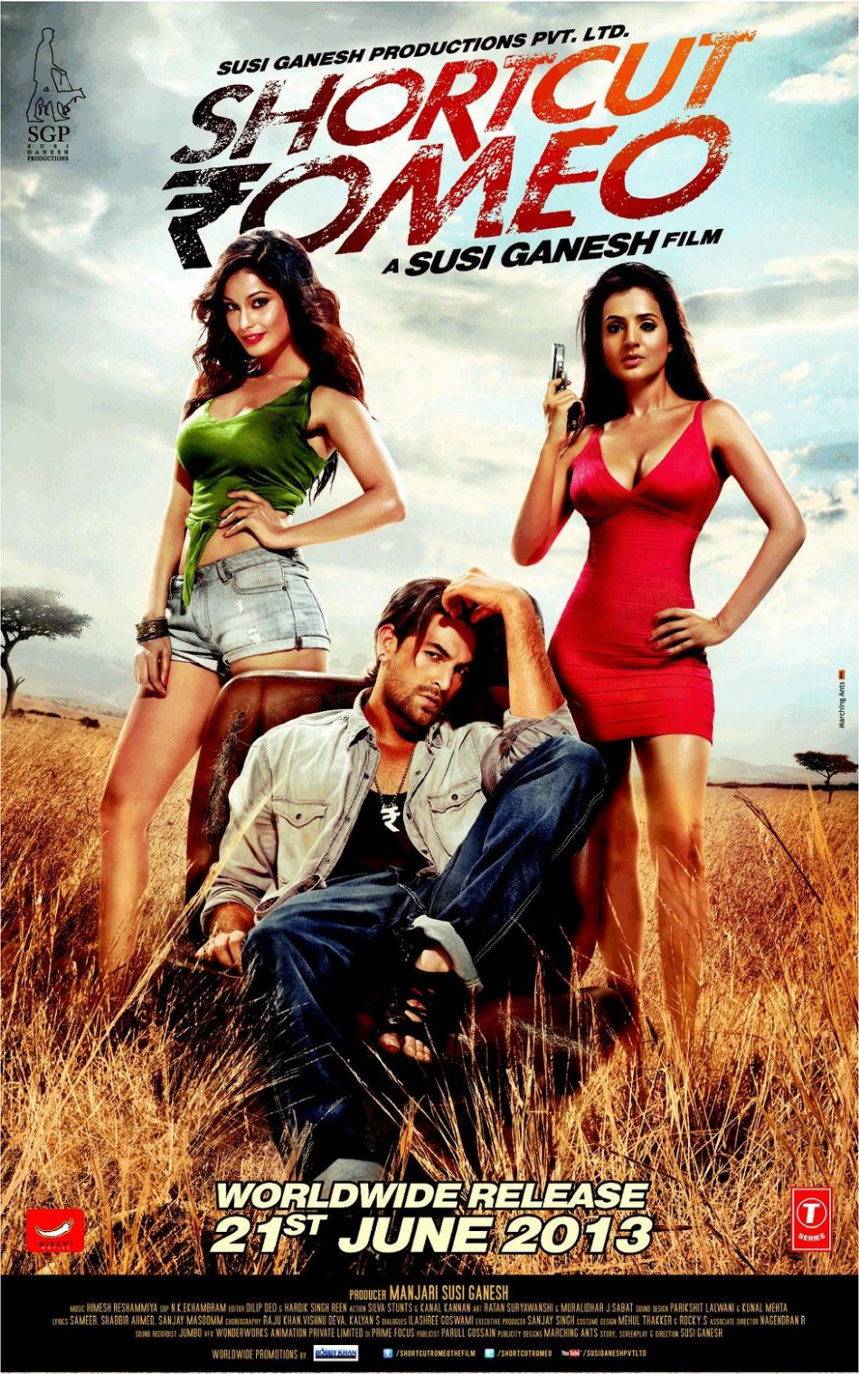 Shortcut Romeo - Movie Poster #1 | Bollywood Movie Posters ...