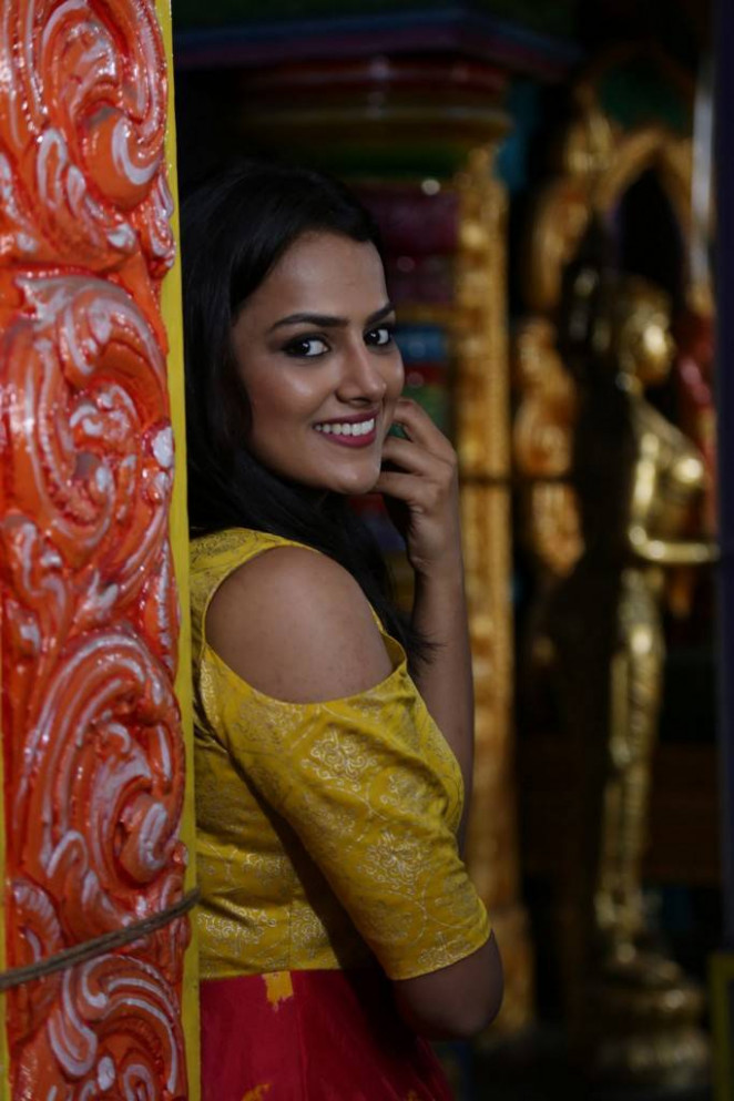 Shraddha Srinath At US Productions New Movie Launch ...