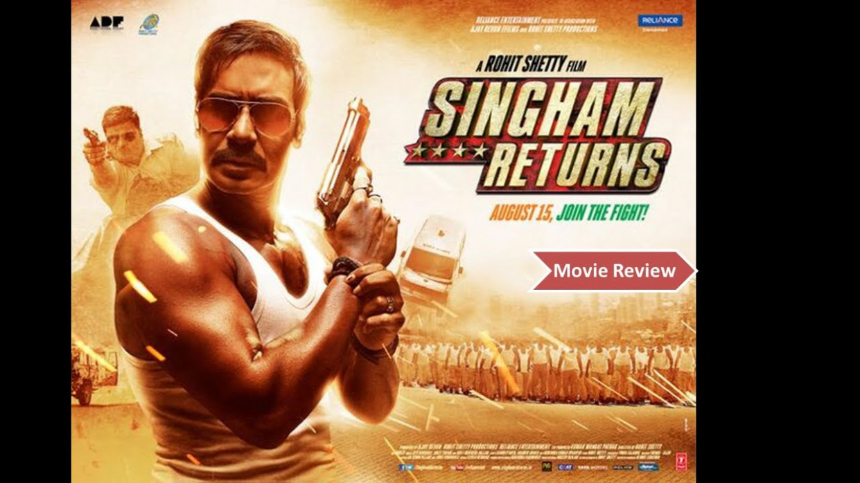 Singham Returns - Full Movie Review in Hindi | New ...