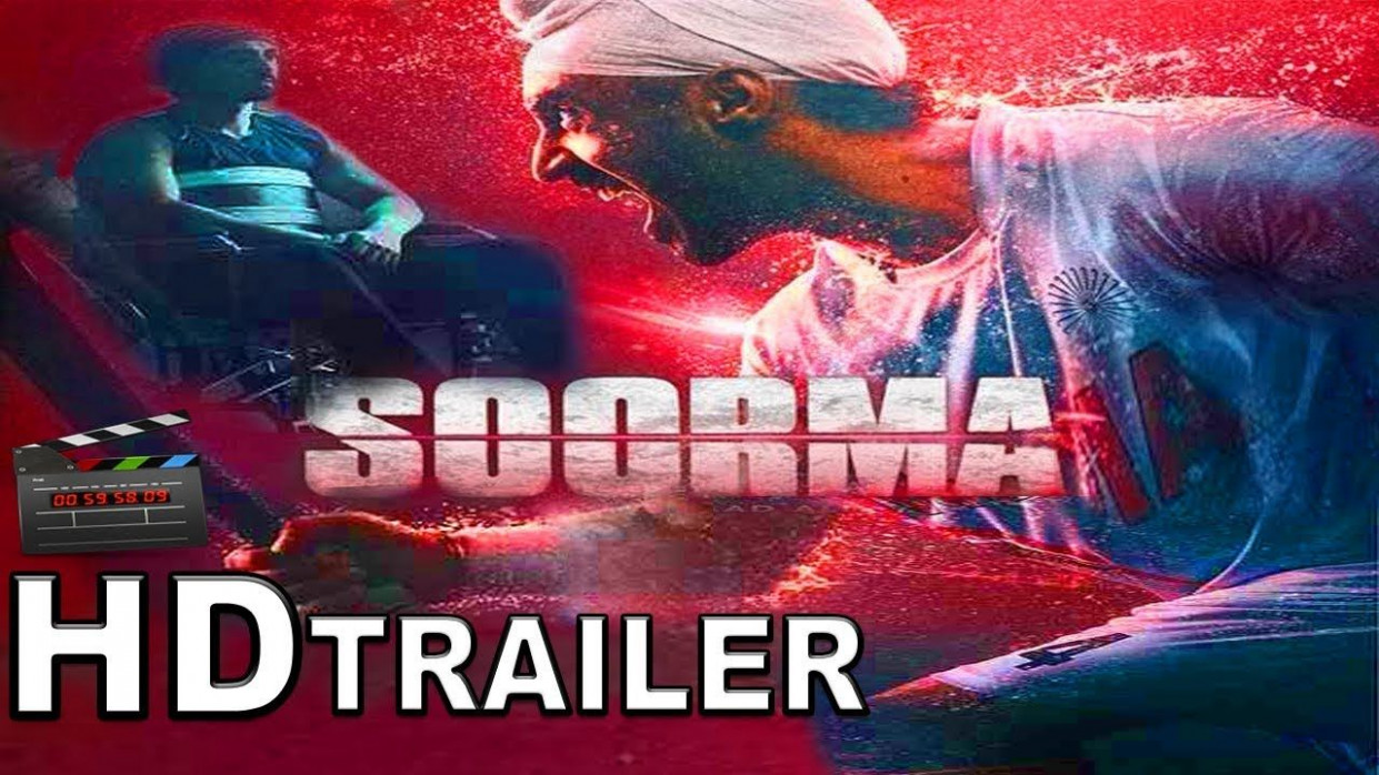 SOORMA TRAILER _Starring Diljit Dosanjh and Tapsee Pann ...