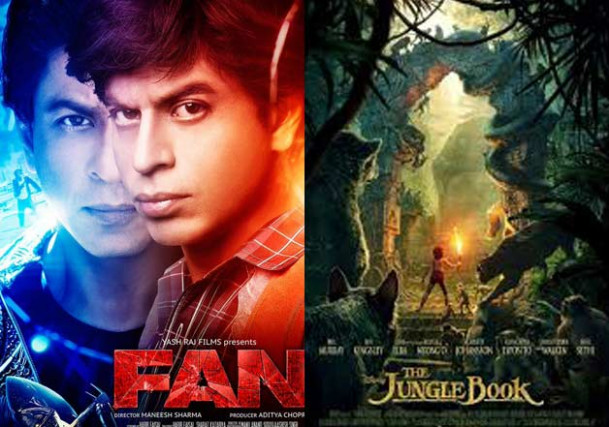 SRK's 'Fan' disappoints at box office, 'Jungle Book ...