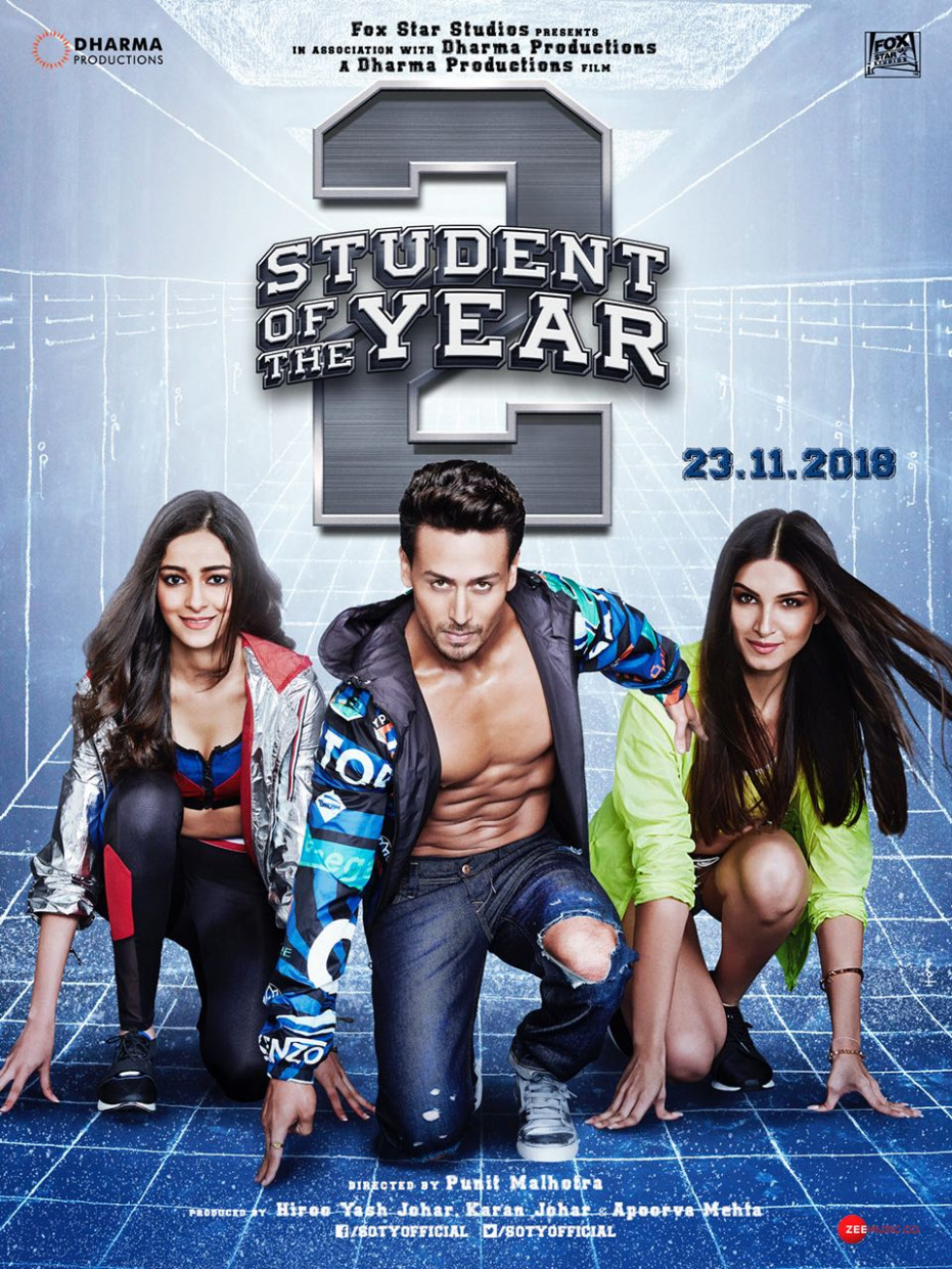 Student Of The Year 2 Movie HD Poster Wallpaper