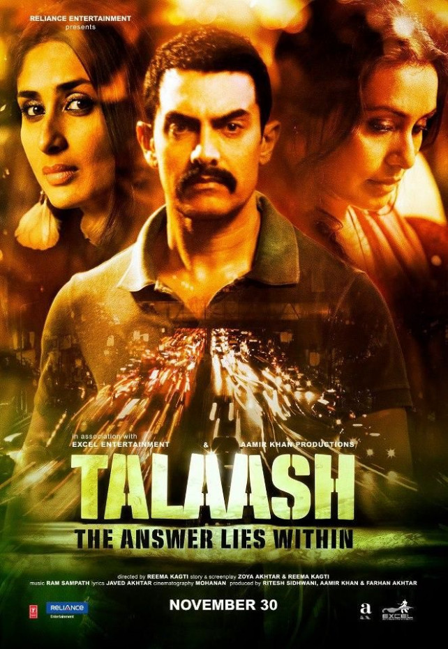 Talaash New Poster - Aamir Khan, Kareena Kapoor and Rani ...